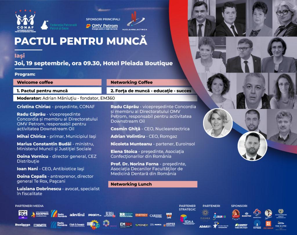 Pactul pentru Muncă, Iași