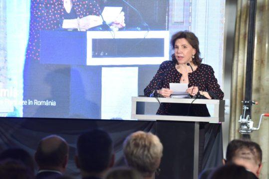 E.S. Dna. Michele Ramis - Ambasador Extraordinar şi Plenipotenţiar al Republicii Franceze în România